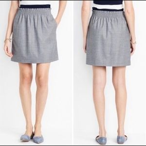 J CREW wool blend skirt with pockets